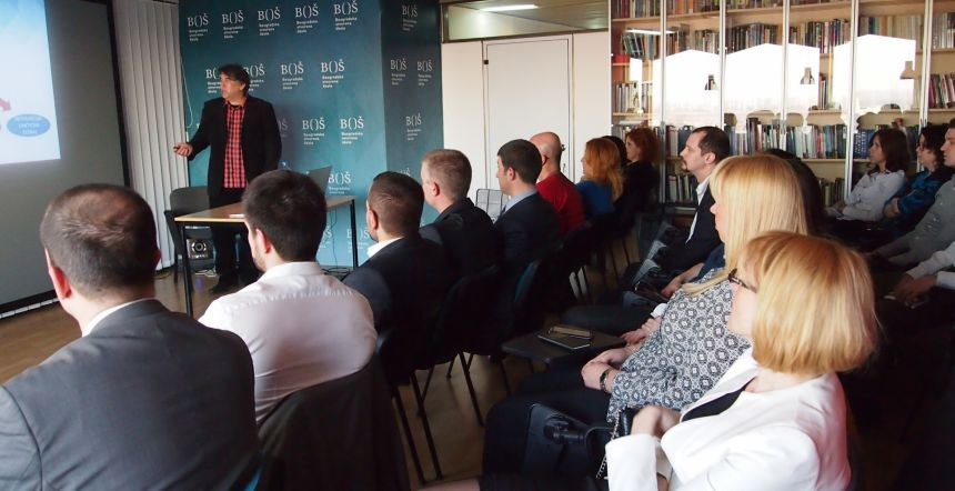 """""""Kako muzika može da unapredi naše poslovne performanse?"""" – Predavanje BOŠ-a i ACI Serbia"""