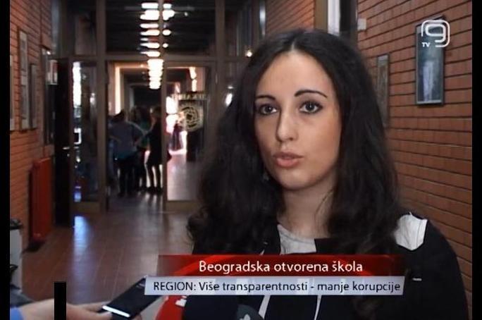 Predstavljanje rezultata istraživanja transparentnosti, Novi Sad