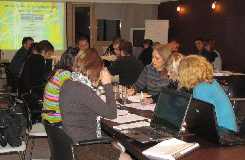 Održan drugi trening u okviru Programa jačanja kapaciteta za organizacije civilnog društva
