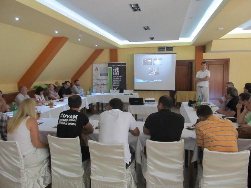 Konsultativna radionica sa Odborom za zaštitu životne sredine RRA Zlatibor u Novoj Varoši