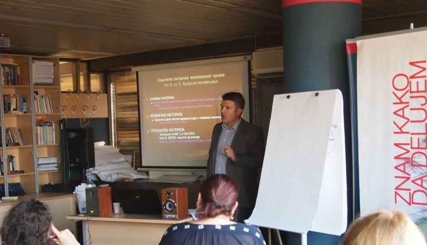 Održan trening u okviru Programa jačanja kapaciteta za organizacije civilnog društva