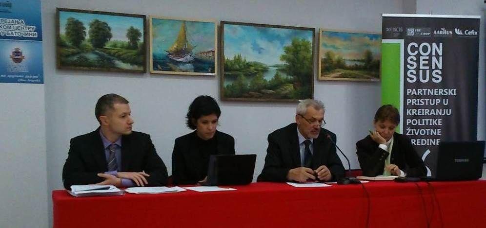 Održana obuka za članove Savetodavne radne grupe za zaštitu i unapređenje životne sredine u Opštini Batočina