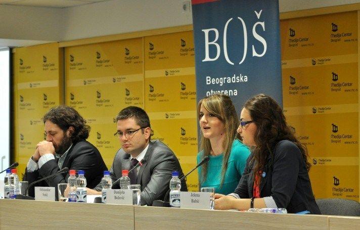 """Održana konferencija """"Progovori o pregovorima - aktivni i informisani građani ili pasivni posmatrači procesa pregovora o pristupanju Srbije EU"""""""