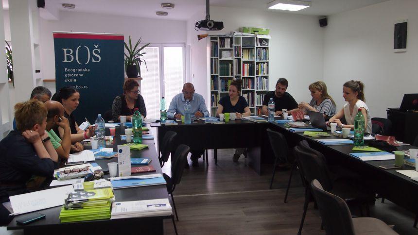 """Diskusioni forum """"Demokratija i vladavina prava izvan procesa pregovora"""" održan u Požegi"""