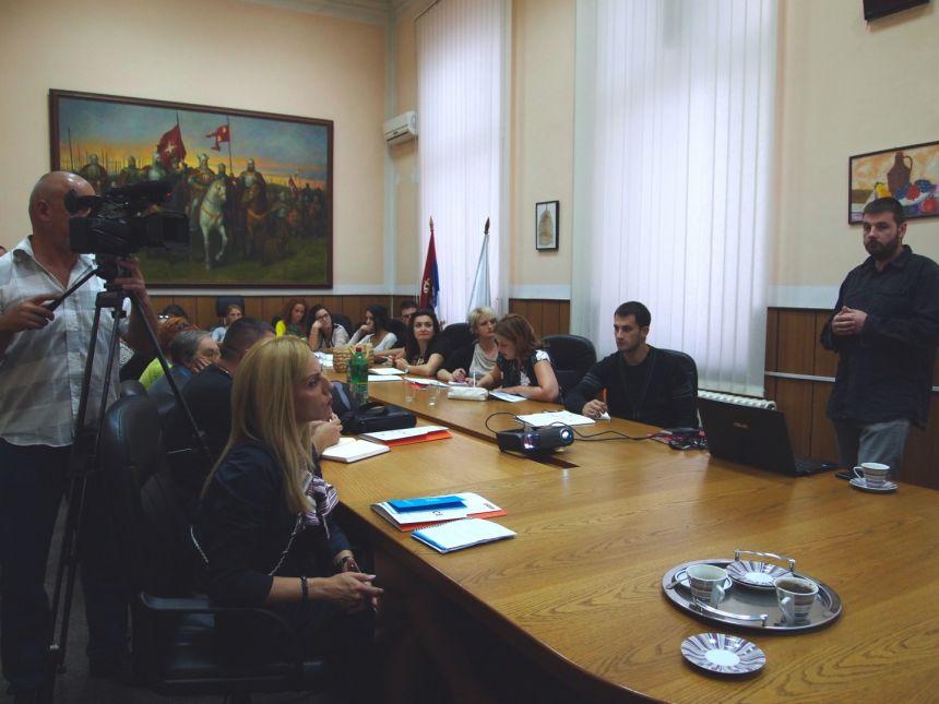 Konsultativni sastanak u okviru Programa podrške udruženjima kroz dodelu malih grantova održan u Raškoj