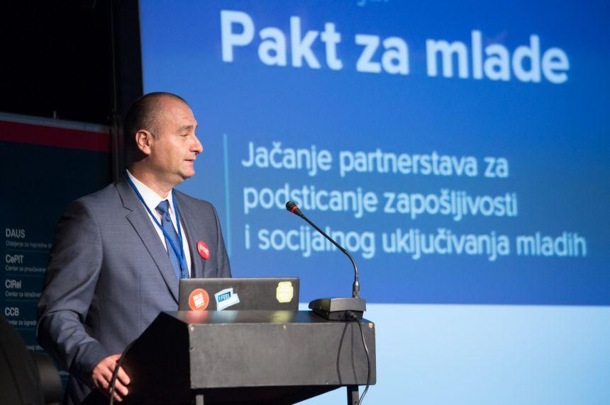 Održana konferencija Pakt za mlade- Jačanje partnerstava za podsticanje zapošljivosti i socijalnog uključivanja mladih