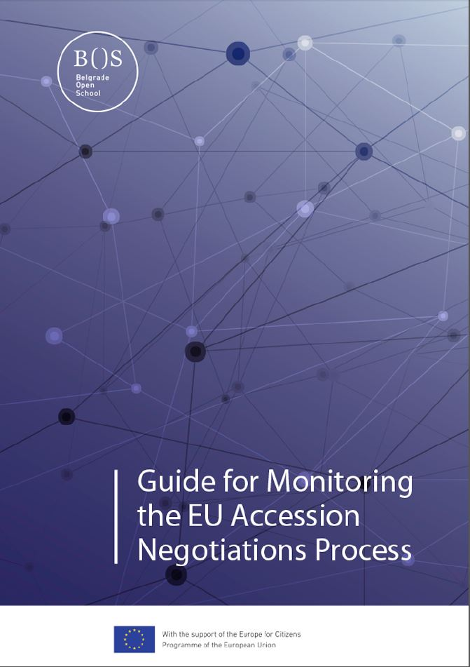 Guide for Monitoring the EU Accession Negotiations Process
