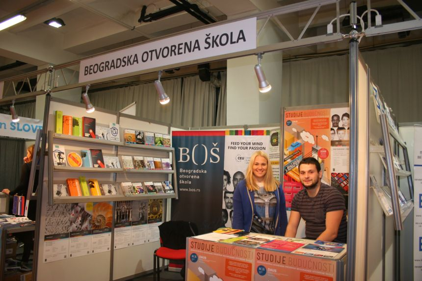 "BOS at the education fair ""Zvonce"""
