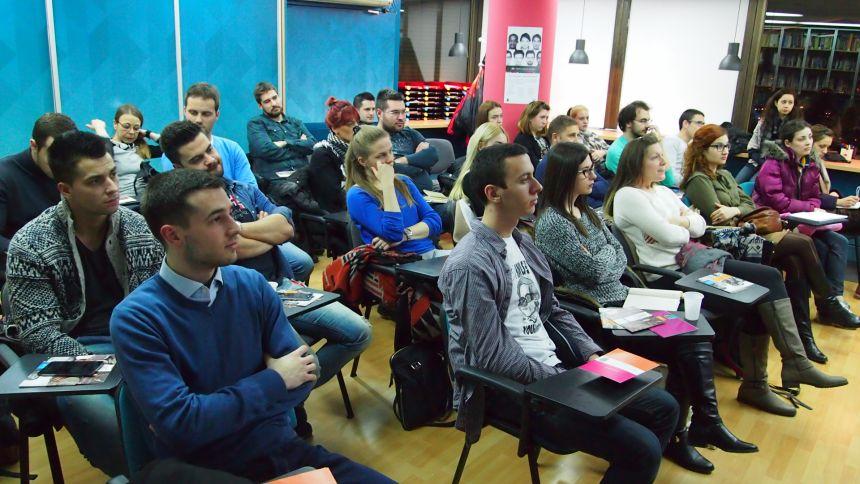 Veliki broj studenata prisustvovao prednovogodišnjem predstavljanju programa stipendija Centralno-evropskog univerziteta