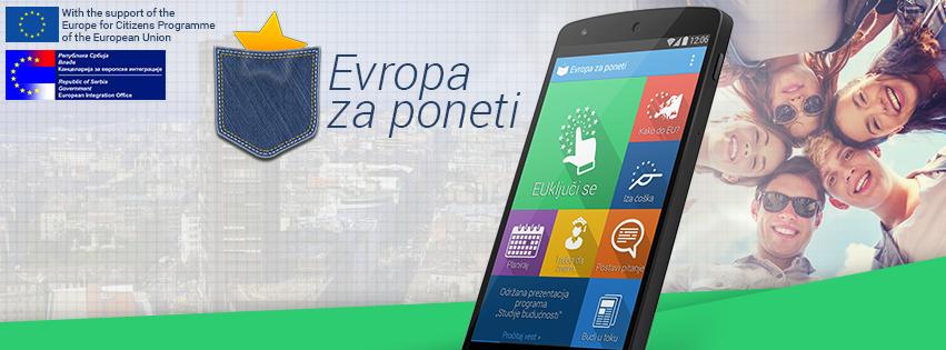 Evropa za poneti – preko android aplikacije do više informacija o EU