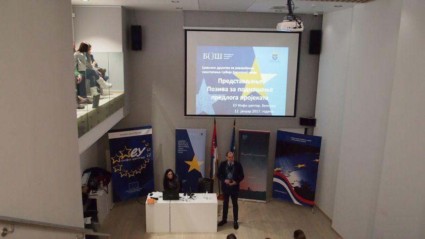 Održane info sesije na kojima je predstavljen Program podrške civilnom društvu i medijima u oblasti evropskih integracija