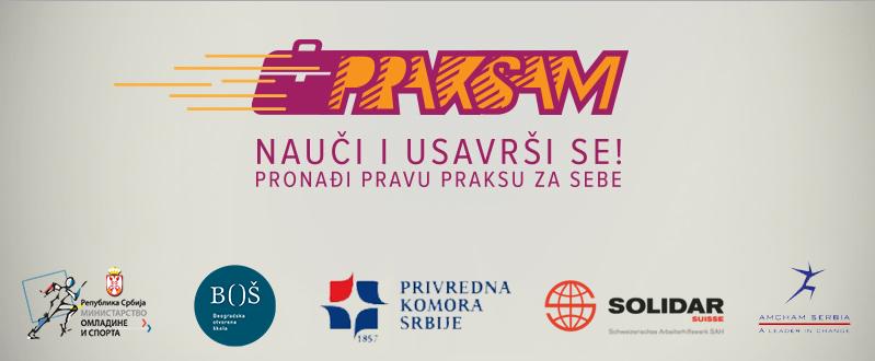 """Održana obuka za praktikante u okviru projekta """"PRAKSAM II – Uvođenje mladih u svet rada kroz radne prakse"""""""