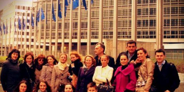 """Studijska poseta Briselu u okviru obrazovnog programa """"Upravljanje projektnim ciklusom u projektima finansiranim od strane EU"""""""