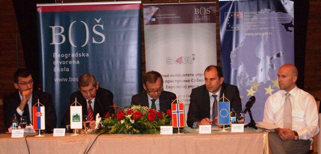 """Organizovana regionalna konferencija """"Prostor bez granica - sprovođenje EU politika za održivi razvoj lokalnih zajednica u Srbiji"""""""