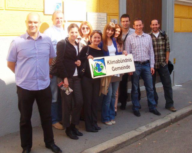 """Studijska poseta Gracu u okviru u okviru projekta """"Re-Energija: za energetski održive lokalne zajednice"""""""